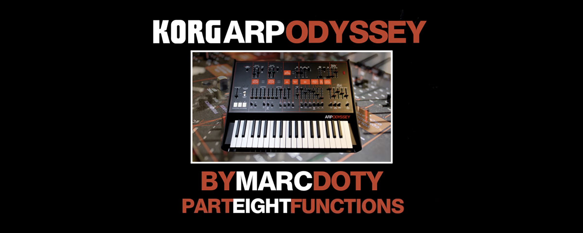 Marc Doty Inside Look Part 8: Various Other Functions