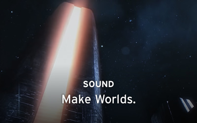 SOUNDS: Make Worlds.
