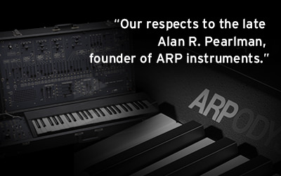 NEWS: Our respects to the late Alan R. Pearlman, founder of ARP instruments.