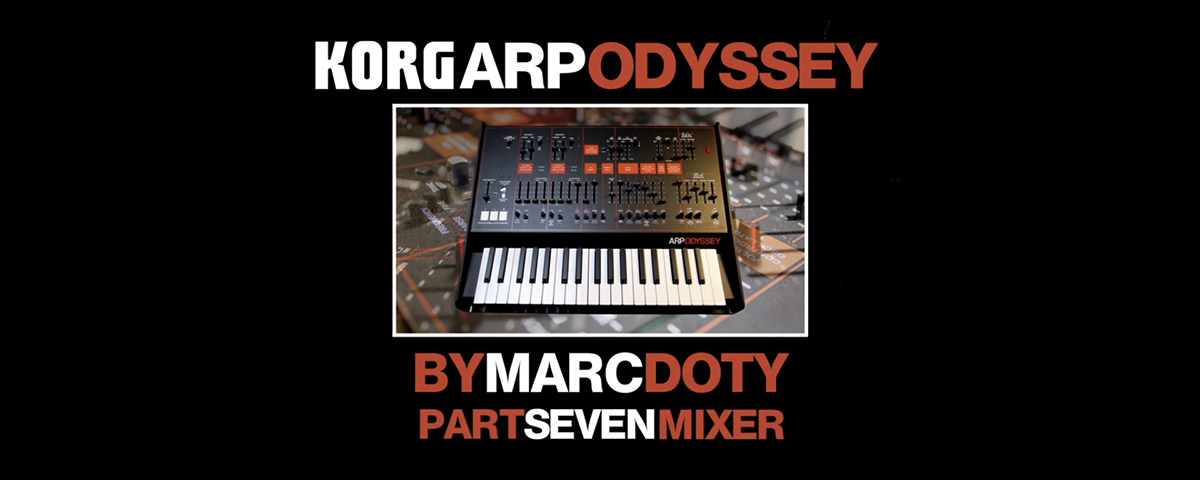 Marc Doty Inside Look Part 7: Mixer