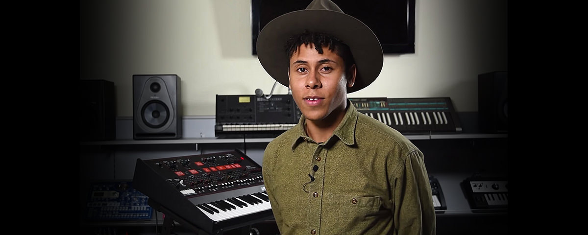 Reuben James from Sam Smith's Band